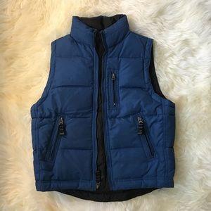 GAP Blue Down Vest